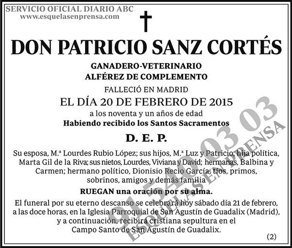 Patricio Sanz Cortés